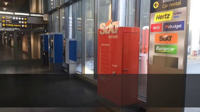Rent a car sin oficinas: Sharebox Taquillla Inteligente