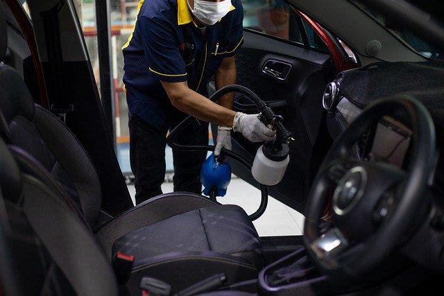 Rent a car España: Desinfeccion