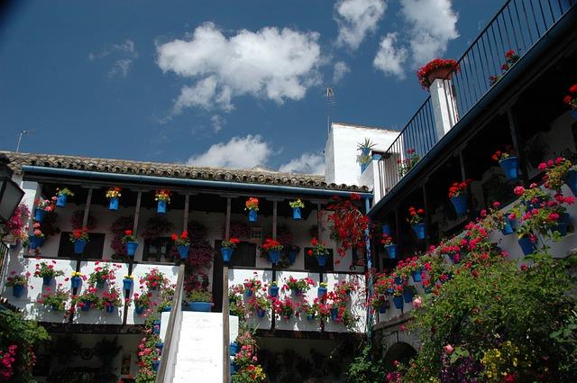 cordoba españa - patios en flor