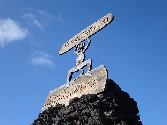 lanzarote - parque nacional timanfaya