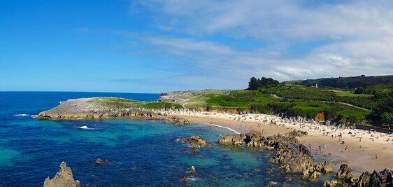 asturias - playas para toda la familia - llanes
