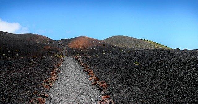 la palma canarias - caminos volcanes