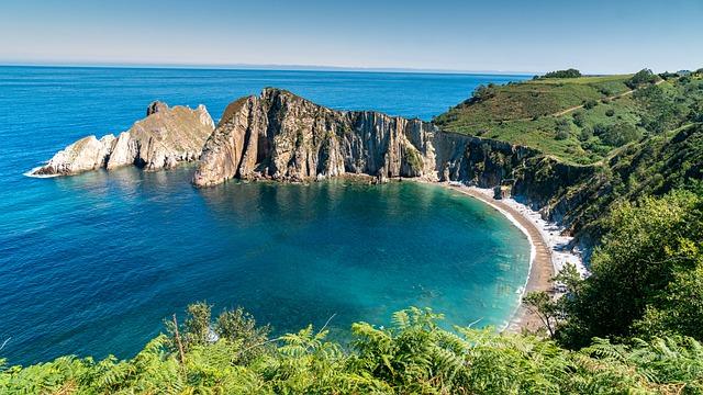 principado de asturias - playa del silencio