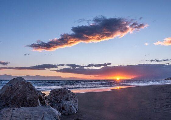 provincia de malaga - costa del sol - playa cabopino