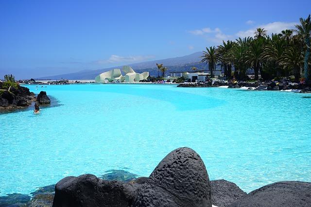 tenerife norte vs tenerife sur - piscina de mar